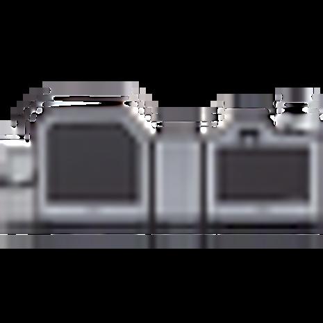 Fargo HDP5000 Dual Card Printer w/ Smart Encoders & Single Laminate