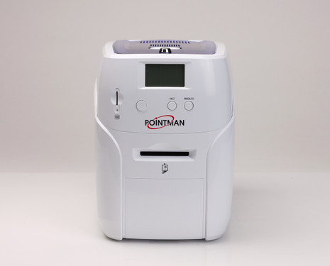 Pointman Nuvia N10 dual side printer with mag. stripe encoding - USB & Ethernet N10-2200CETN