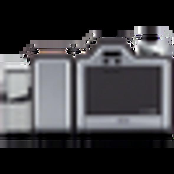 89082 Fargo HDP5000 Dual-Sided ID Card Printer w/ Mag-Smart Encode