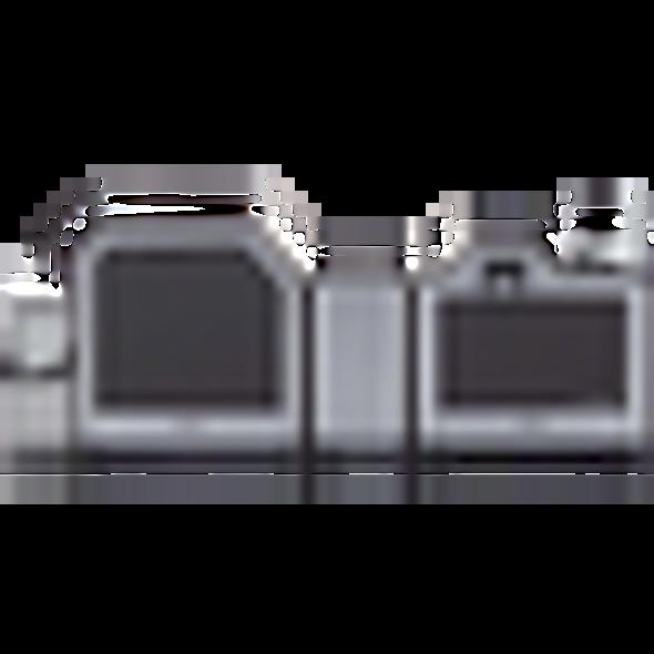 Fargo HDP5000 Dual Color Card Printer w/ Smart Encoder & Dual Laminate 89038
