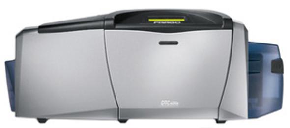54171 Fargo DTC400e Dual-Sided Color Card Printer w/ Smartcard Encoder