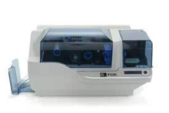 How to print a test card on a Zebra P330i ID card printer