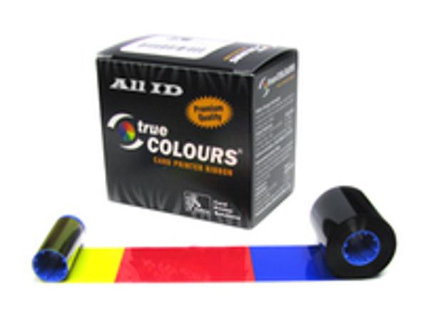 800015-880 Zebra Color Ribbon - 5 panel YMCKK for P620 - 500 images