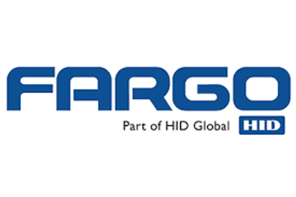 Fargo DTC1000 single-sided card printer with magnetic encoder