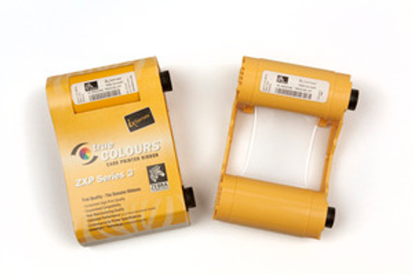 Zebra xi Series monochrome ribbon for ZXP Series 3, Gold, 1000 images