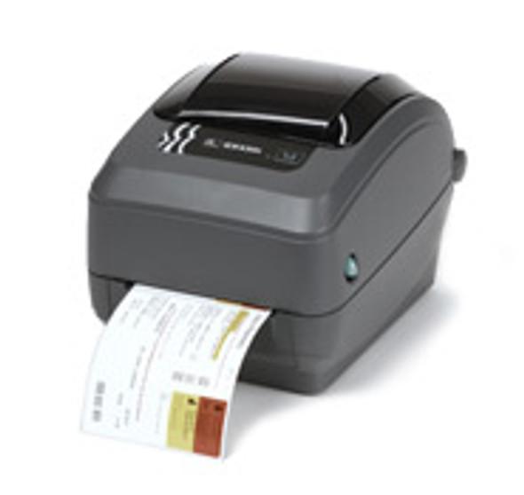 GX43-102510-000 Zebra GX430t Thermal Transfer Label Printer