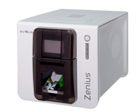 EVOLIS, ZENIUS CLASSIC PRINTER WITHOUT OPTION, USB, BROWN