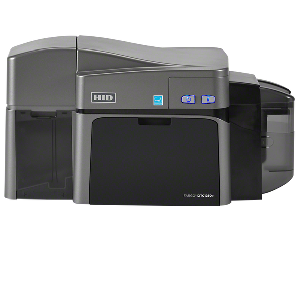FARGO DTC1250e DUAL-SIDED CARD PRINTER WITH ETHERNET, INTERNAL PRINT SERVER