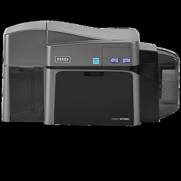 FARGO DTC1250e DUAL-SIDED ID CARD PRINTER WITH ETHERNET, INTERNAL PRINT SERVER, ISO MAG ENCODER