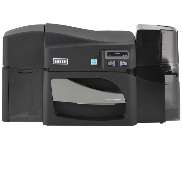 FARGO DTC4500e SINGLE-SIDE PRINTER,W/O LOCKING HOPPERS,USB,ETH