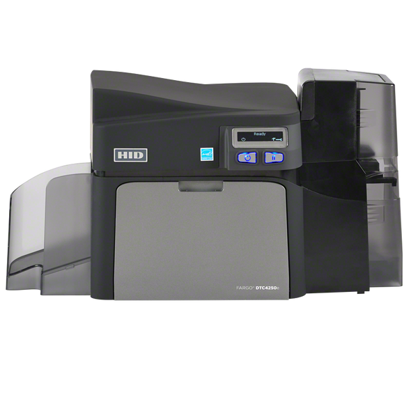 FARGO DTC4500e SINGLE-SIDE PRINTER,W/O LOCKING HOPPERS,USB,ETHERNET,ISO MAG ENCODER