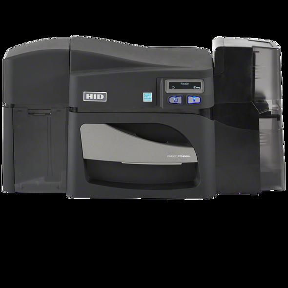 FARGO DTC4500e DUAL-SIDE PRINTER,W/O LOCKING HOPPERS,USB,ETHERNET