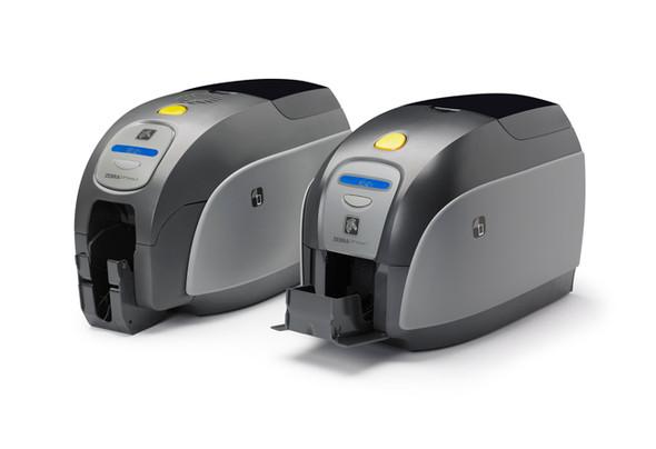 Zebra ZXP Series 1 Single-Sided Card Printer, Monochrome Media Starter Kit