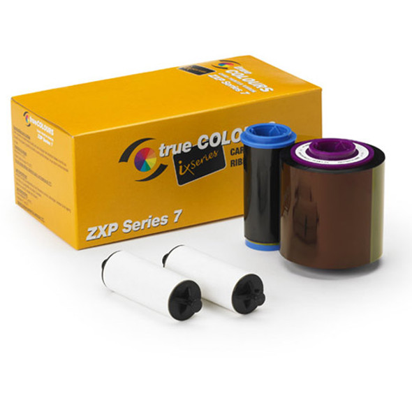 800077-742 Zebra ix Series color ribbon for ZXP Series 7 YMCKO