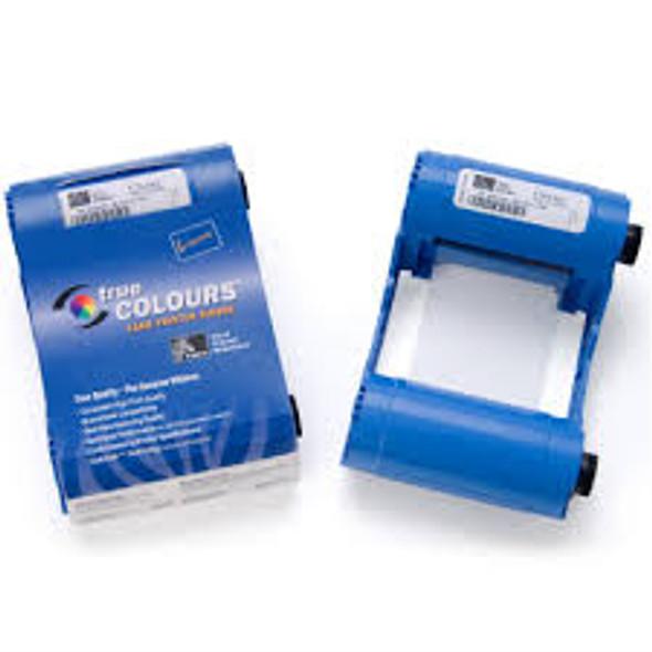 800017-209 Zebra i Series white monochrome ribbon cartridge  for P1xx printers, 850 images.  Environmentally friendly design