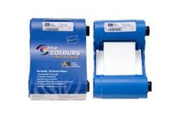 800017-209 Zebra i Series white monochrome ribbon cartridge  for P1xx printers, 850 images.  Environmentally friendly design-