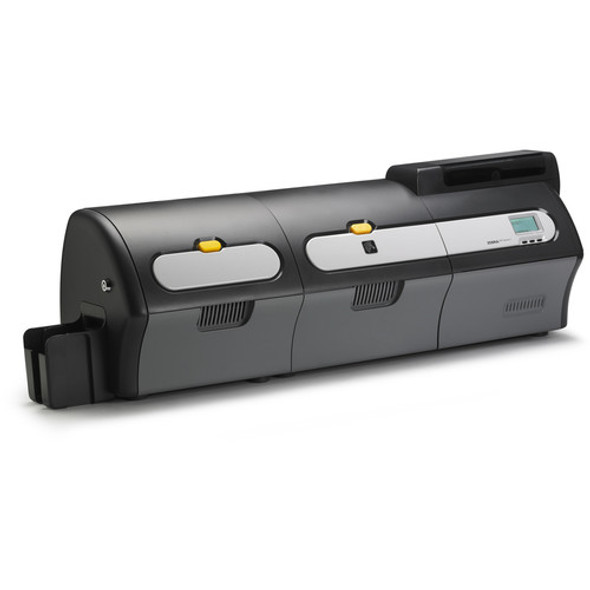 Z74-EM0C0000US00 Zebra ZXP Series 7 Dual-Sided Card Printer and Dual-Sided Laminator, Contact Station, Magnetic Encoder, USB and Ethernet Connectivity, US Power Cord