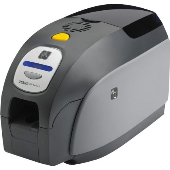 Z32-0M00E200US00 Zebra QuikCard ID Solution with ZXP Series 3 dual-sided card printer with USB, Magnetic encoder, CardStudio software, webcam, and Media starter kit (200 cards, 1 YMCKOK color ribbon)