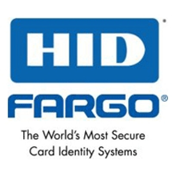 "082222 Fargo PolyGuard 0.6 mil Overlaminate, High Resolution Globe design hologram with ""Secure"" micro-text, 250 count (now compatible with HoloMark and VeriMark Cards)"