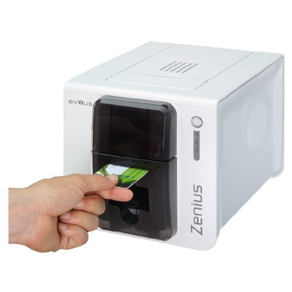 ZN1H0000TS Zenius Expert Grey Brown Printer without option, USB & Ethernet-