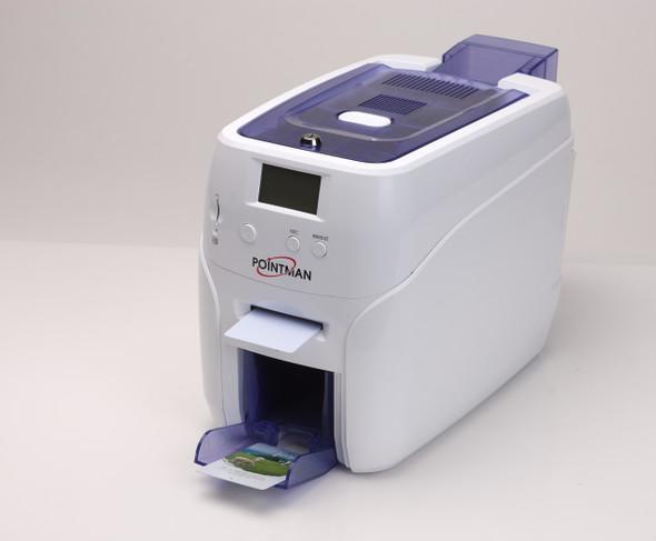 Pointman Nuvia N20 dual sided printer with mag stripe encoding, USB & ethernet N20-2200CETN