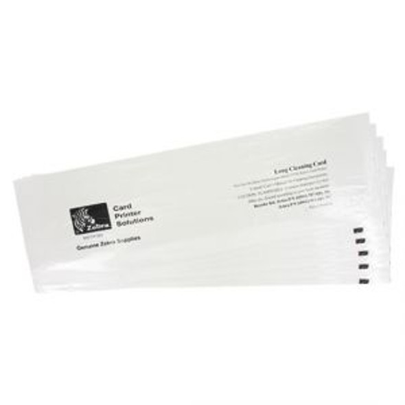 Zebra ZC100/ZC300 Cleaning Card Kit: 5 Cleaning Cards (105999-311)