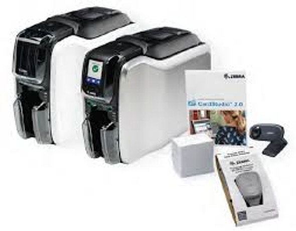 Zebra ZC100 QuickCard ID System ZC11-0000Q00US00 -Sided ID Printer System