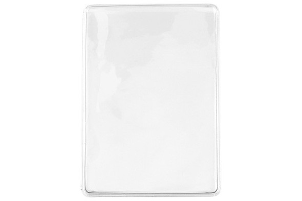 Brady 1840-3505 Clear Vinyl Horizontal Business Card Holder