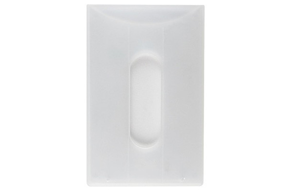 Brady 1840-6070 Clear Bank Card Rigid Holder