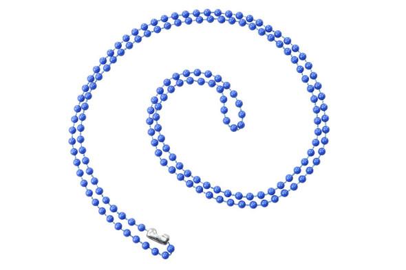 "Brady 2130-4002 Royal Blue 38"" Colored Neck Chains"
