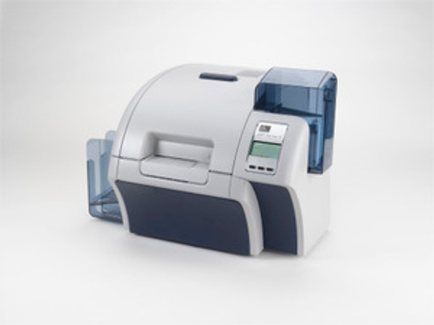 Zebra ZXP Series 8 Retransfer Dual-Sided Card Printer, USB and Ethernet Connectivity, US Power Cord