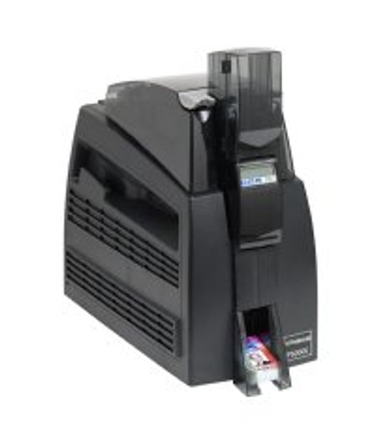 Polaroid P5000E Dual-Sided Color ID Card Printer w/ Dual-Sided Laminate