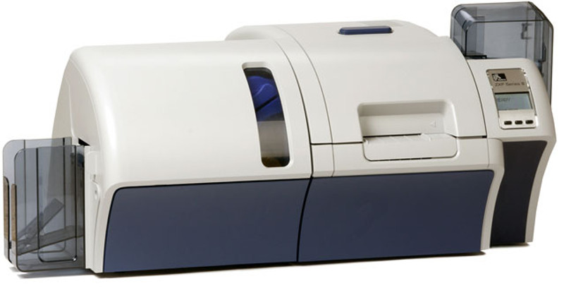 Z83-A00C0000US00 Zebra ZXP Series 8 Retransfer Dual-Sided Card Printer,  Single-Sided Laminator, Contact Encoder + Contactless MIFARE, USB and  Ethernet