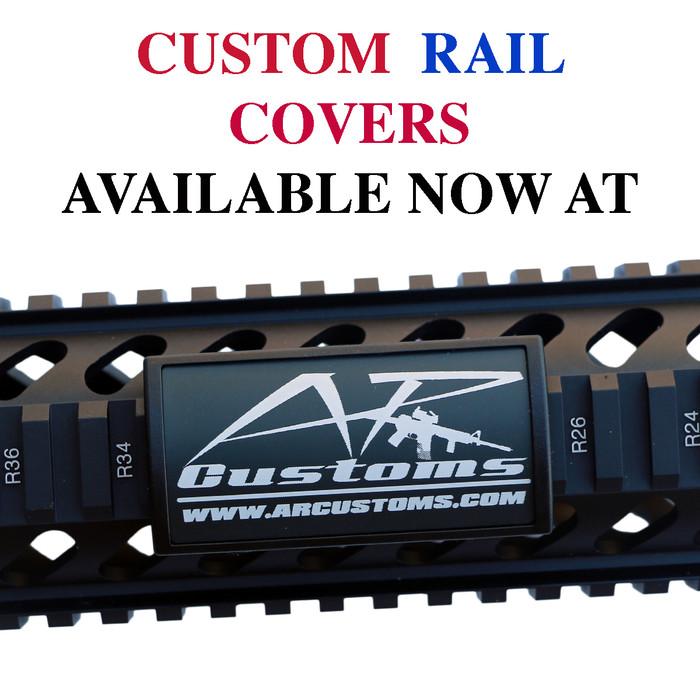 Custom Laser Engraved Picatinny Rail Cover