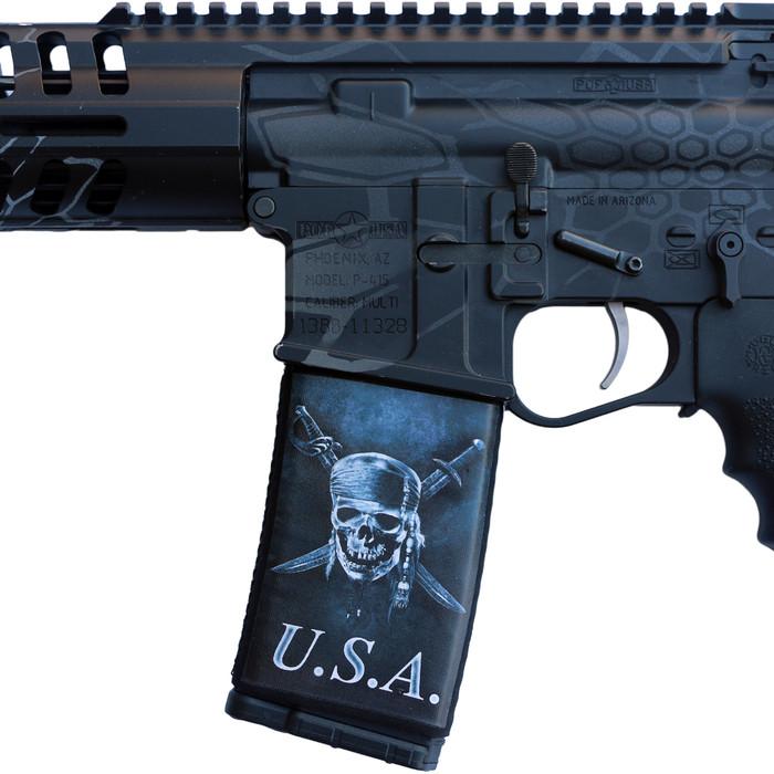 USA Skull And Swords Soc