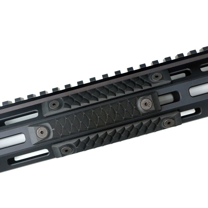 High Temp Polymer Dragon MLOK Black - 3 Pack