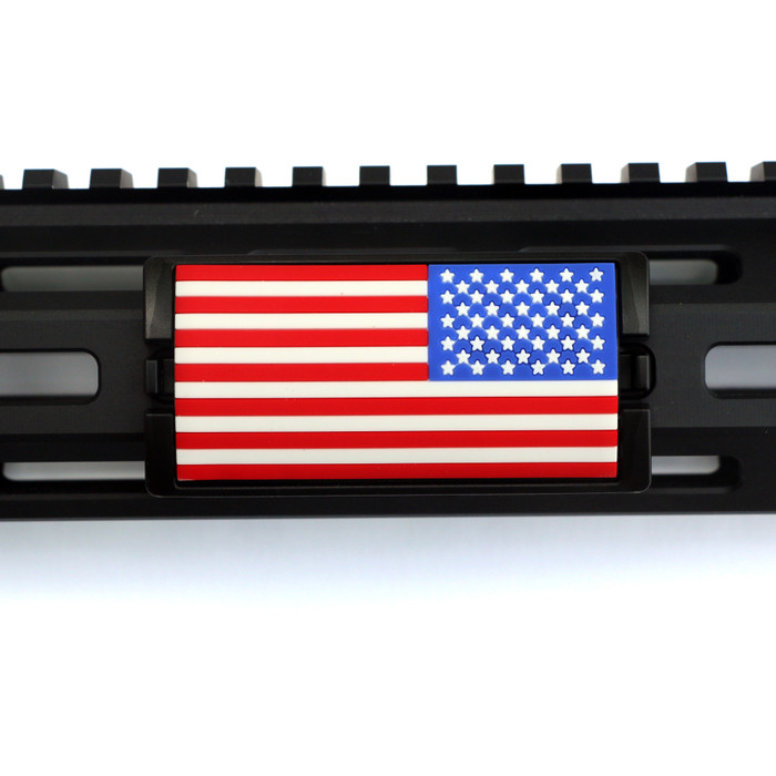 Red, White and Blue Stars Right KeyLok - Black Retainer