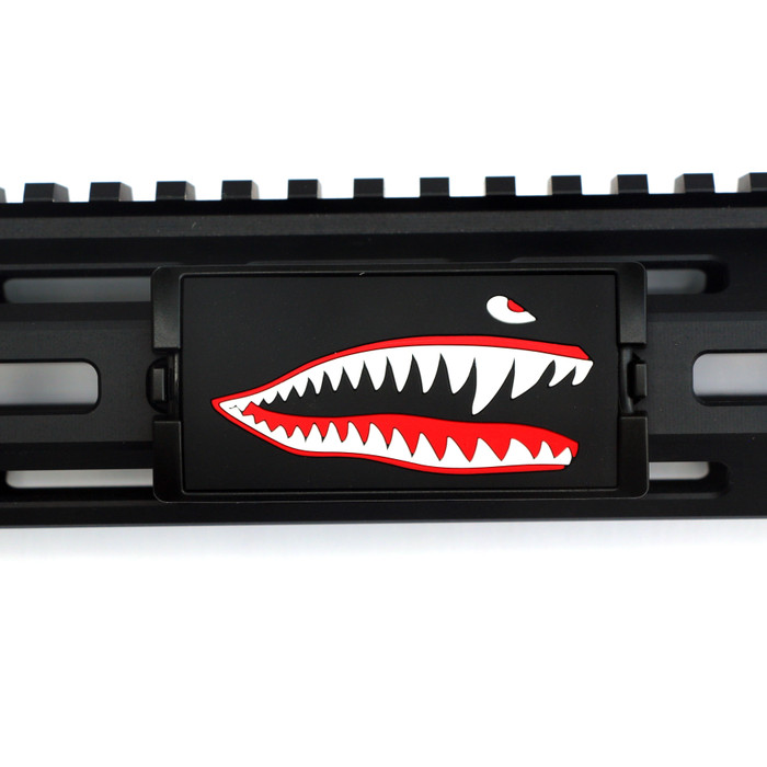JAWS PVC (Facing Right) For KeyMod and MLOK Rails- Black Retainer