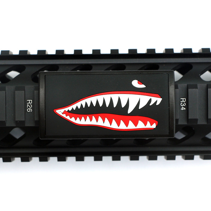 JAWS PVC (Facing Right) For Picatinny Rails- Black Retainer