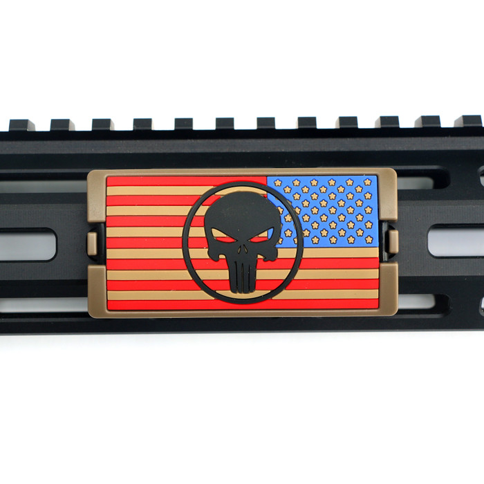 The End Is Nigh Stars Right PVC KeyLok Rail Cover- FDE Retainer