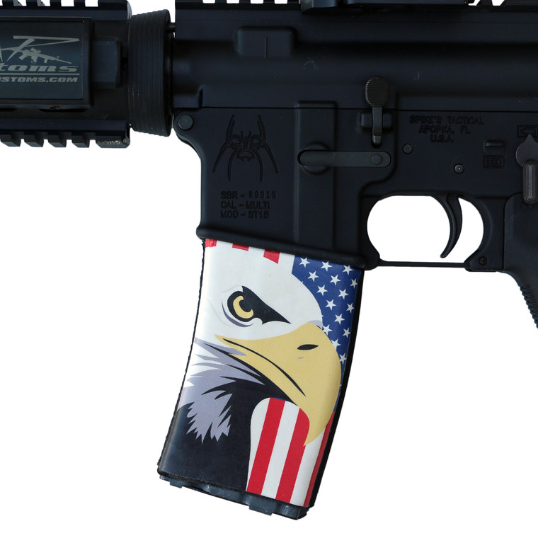 Eagle/ Flag Illustration Soc