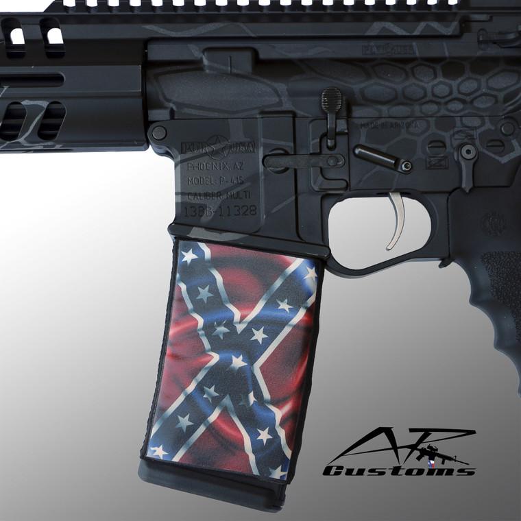 Wavy Confederate Flag Soc