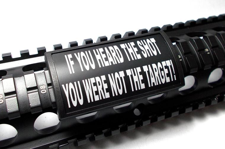 IF YOU HEARD THE SHOT...