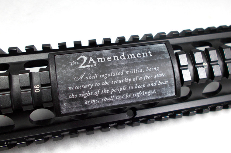 SECOND AMENDMENT W/ US FLAG