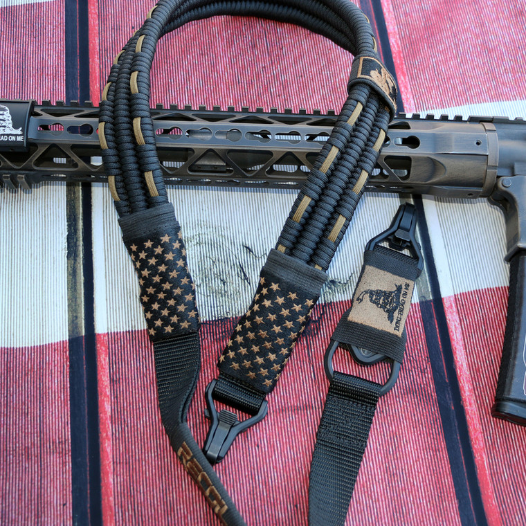 Black / FDE Subdued US Flag Sling