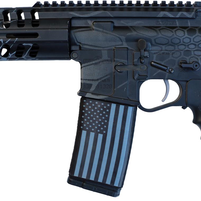 US Flag Greyscale Soc