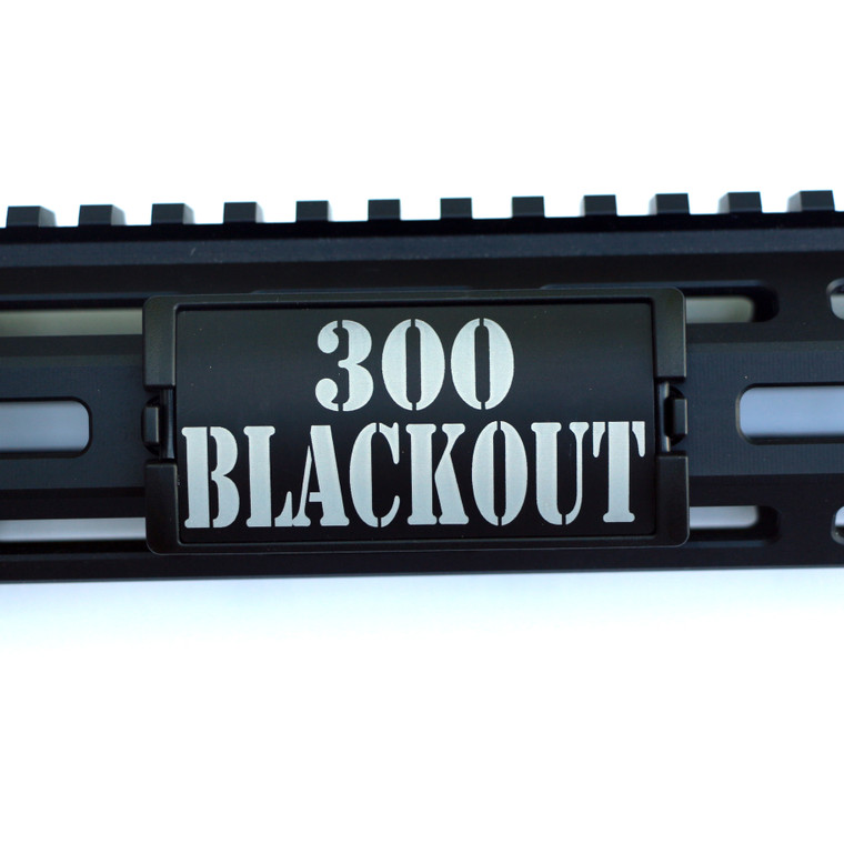 300 Blackout KeyLok Rail Cover- Black Retainer
