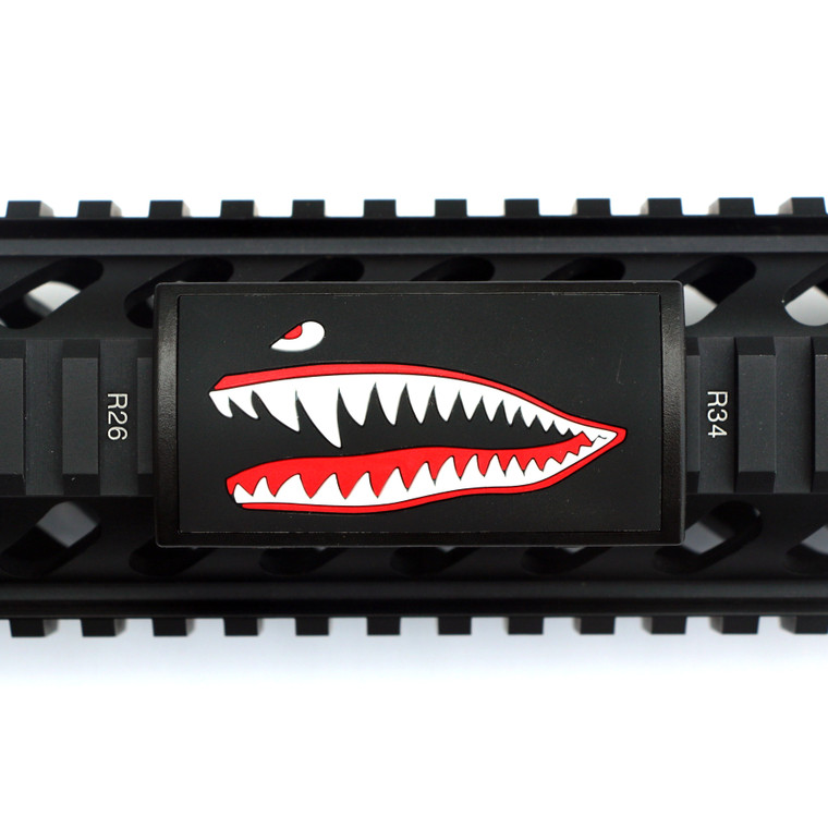 JAWS PVC (Facing Left) for Picatinny Rails - Black Retainer