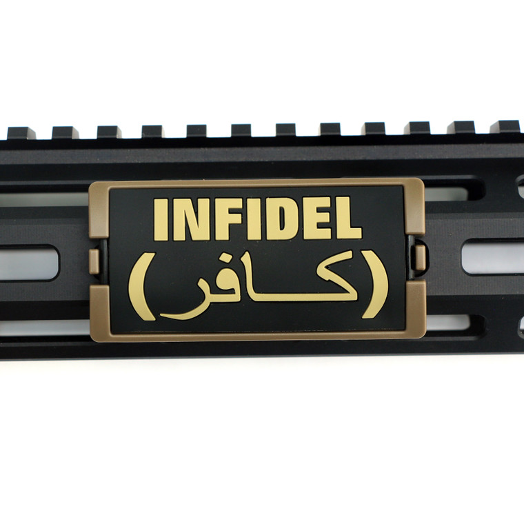 Infidel PVC KeyLok Rail Cover- FDE Retainer