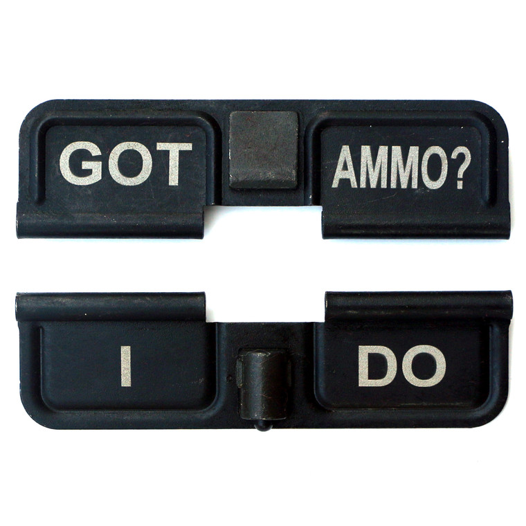 Got Ammo? I Do  Double Sided Engraved Dust Cover